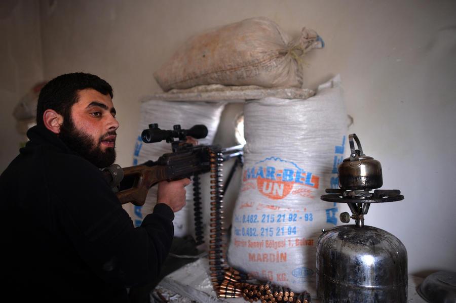 ФСКН: сирийские боевики финансируют 20 тыс наемников за счет афганских наркотиков