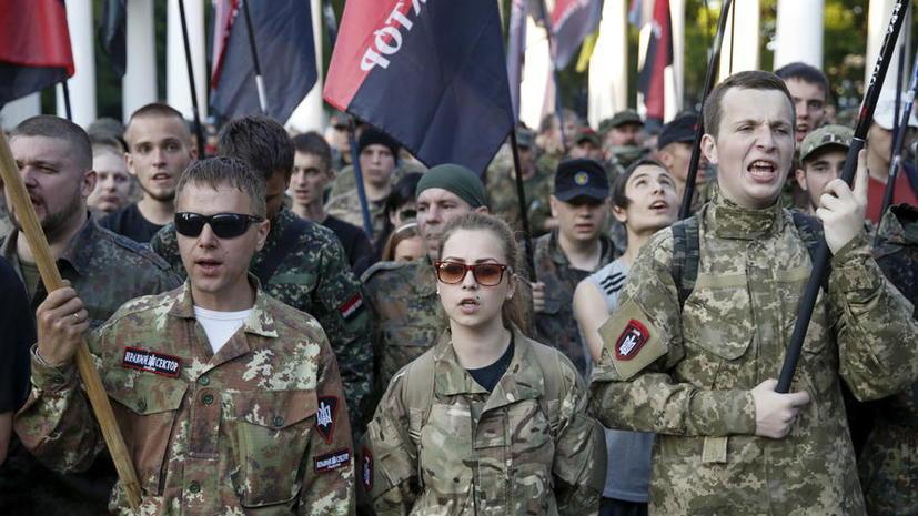 Боевики «Правого сектора» находятся в горах в ожидании приказа Дмитрия Яроша