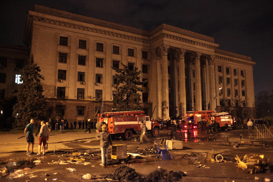 Рада не спешит расследовать дело о трагедии в Одессе
