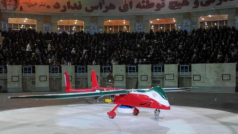Иран создал новый беспилотник-невидимку