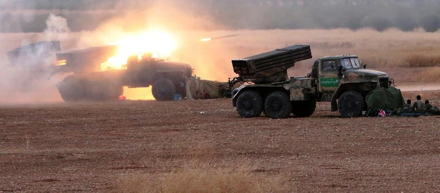 Сирийская армия начинает масштабное наступление на позиции «Исламского государства» в Хаме