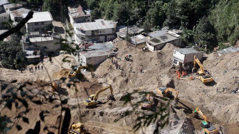 Более 200 человек стали жертвами оползня в Гватемале: трагедия в фото и видео
