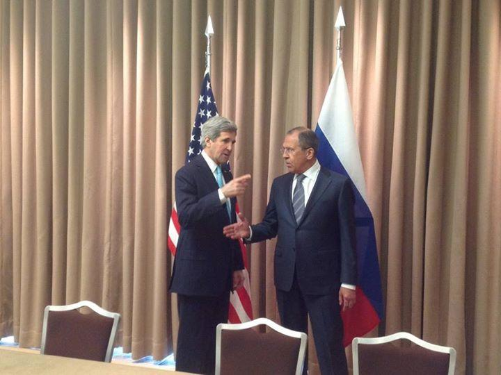 Сергей Лавров и Джон Керри встретились в Женеве за закрытыми дверьми