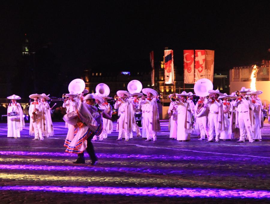 Закрытие фестиваля «Спасская башня» в фотографиях пользователей соцсетей