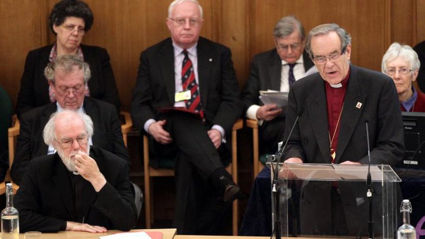 Англиканская церковь запретила женщинам становиться епископами