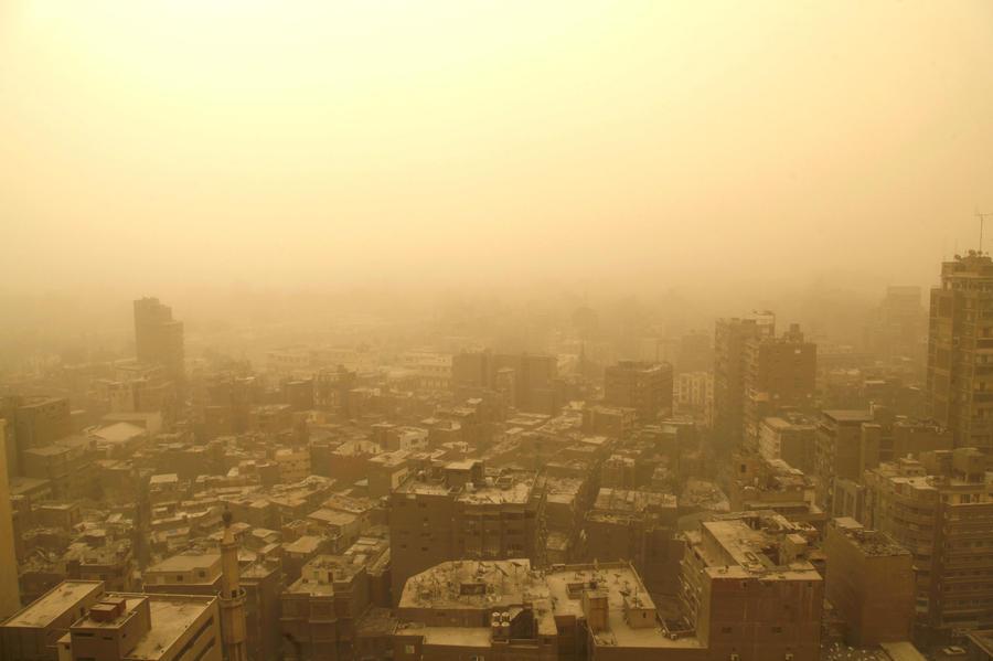 Ближний Восток накрыла смертельная песчаная буря