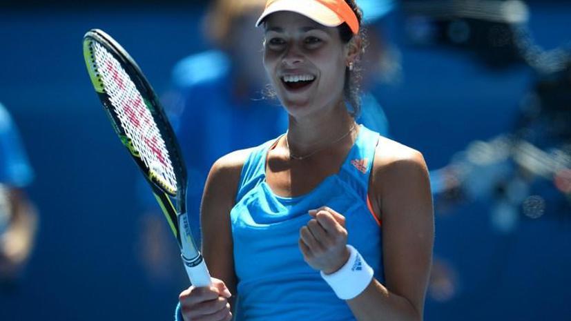 Ана Иванович выбила с Australian Open первую ракетку мира Серену Уильямс