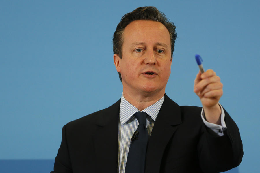 Дэвид Кэмерон: В марте Великобритания отправит на Украину военных инструкторов
