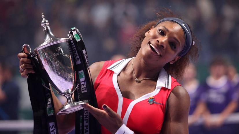 Серена Уильямс признана игроком года WTA