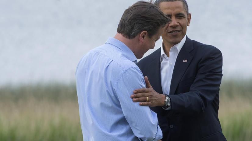 Явный советник: Уговаривать британцев остаться в ЕС будет Обама
