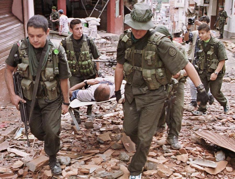 Колумбийские повстанцы убили 13 солдат правительственной армии