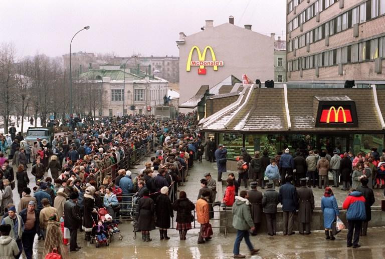 Роспотребнадзор временно запретил деятельность четырёх ресторанов McDonald's в Москве