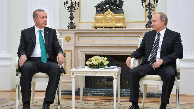 Немецкие СМИ: Конфликт Владимира Путина и Реджепа Тайипа Эрдогана показал, кто из них «господин»