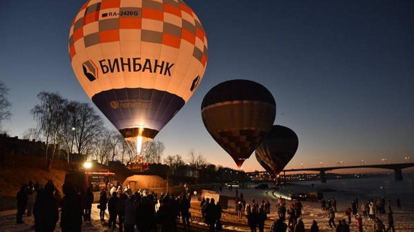 Фёдор Конюхов поднялся в небо на воздушном шаре, чтобы установить рекорд России