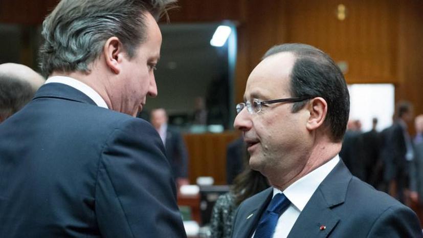 ЕС отказался вооружать сирийских повстанцев