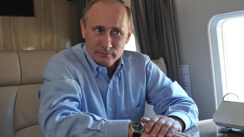 Владимир Путин отменил визы для иностранных спортсменов