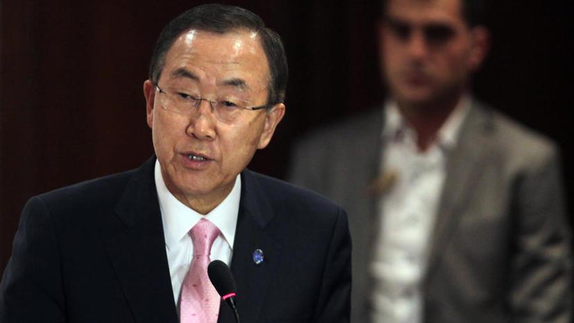Генсек ООН: Египту необходим план по сдерживанию насилия
