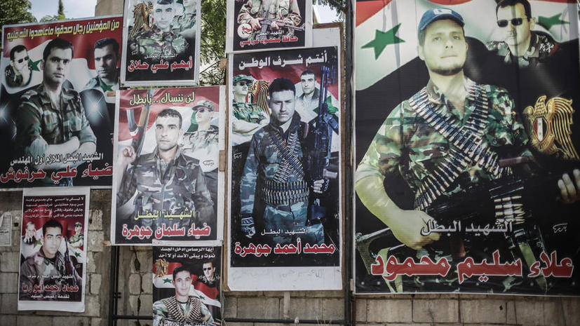 Жертвами мощного взрыва в Сирии стали 30 военных, среди них, возможно, три генерала