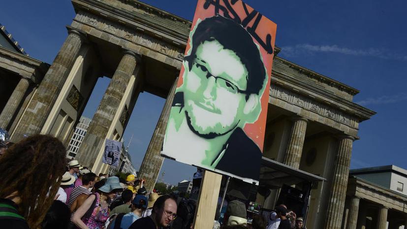 Германия исключила возможность предоставить убежище Эдварду Сноудену