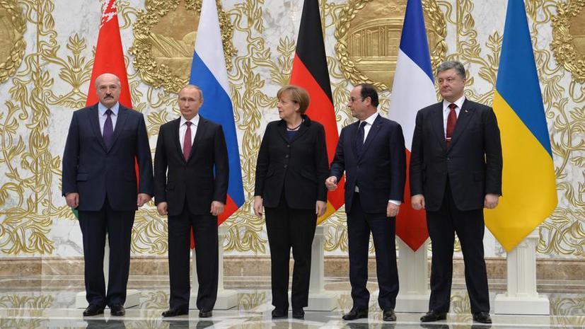 В Минске продолжается работа саммита по урегулированию ситуации на Украине