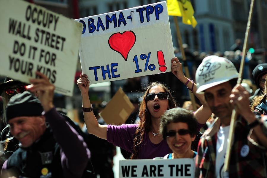 В США активистке Occupy Wall Street грозит до семи лет тюрьмы за «нападение на полицейского»