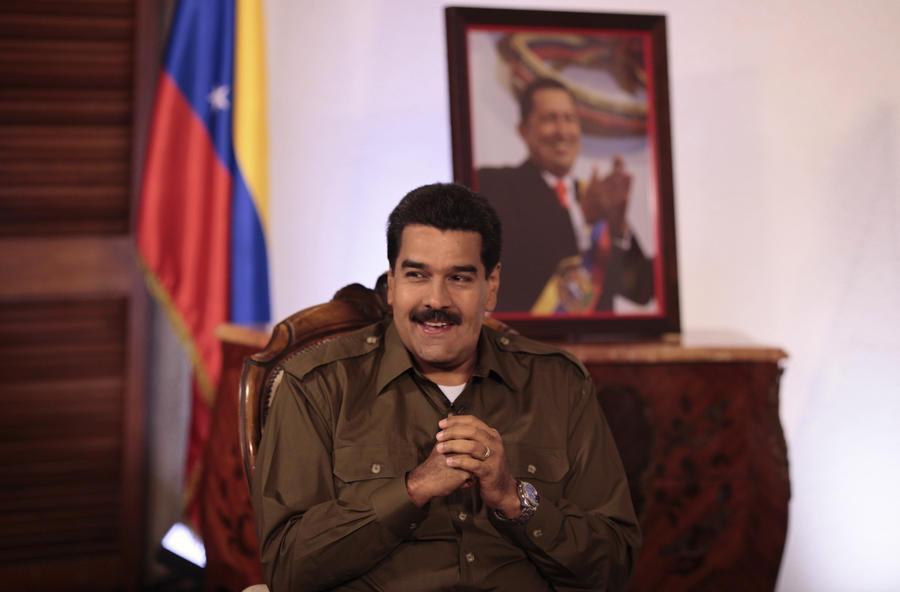 Преемник Чавеса обозвал венесуэльскую оппозицию «наследниками Гитлера»