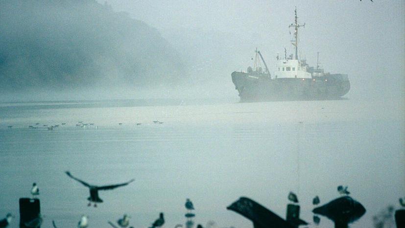 По факту крушения траулера «Дальний Восток» в Охотском море возбуждено уголовное дело