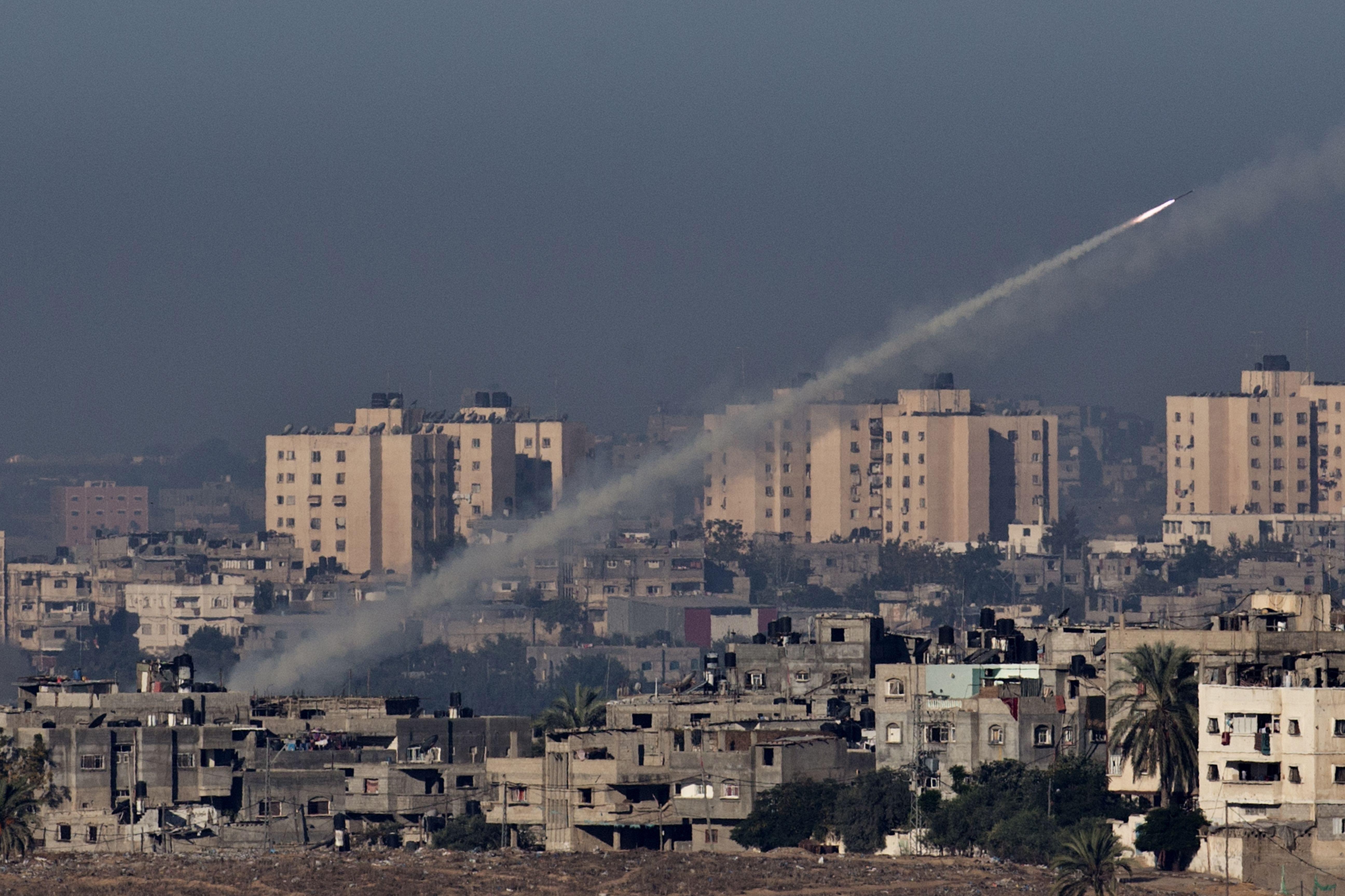 Ответный удар: палестинцы дотянулись до Тель-Авива