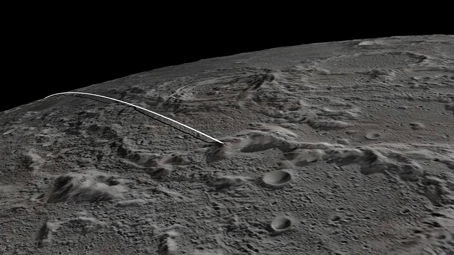Американские зонды GRAIL разобьются о лунный кратер