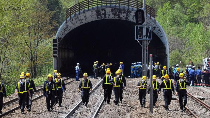 На японских железных дорогах в 270 местах неверно положили рельсы