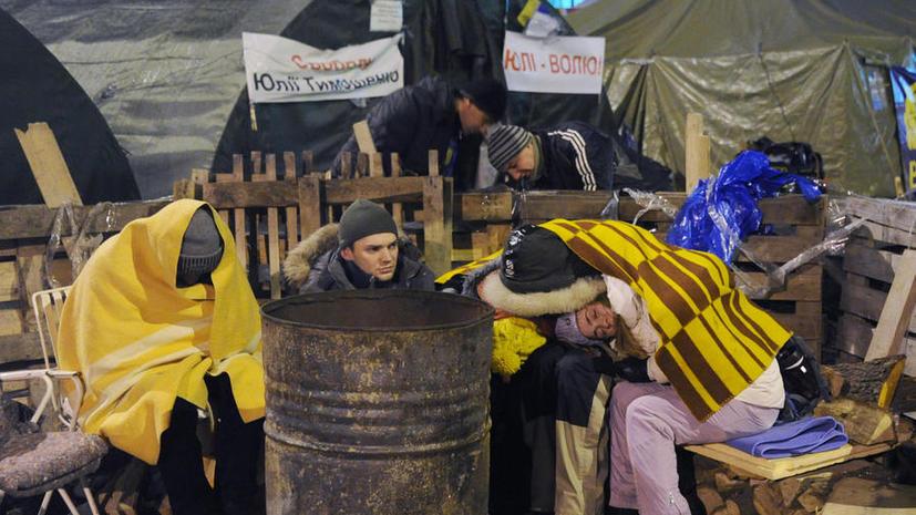 Анархия на Украине: Вооружённые майдановцы развязали войну против собственного народа