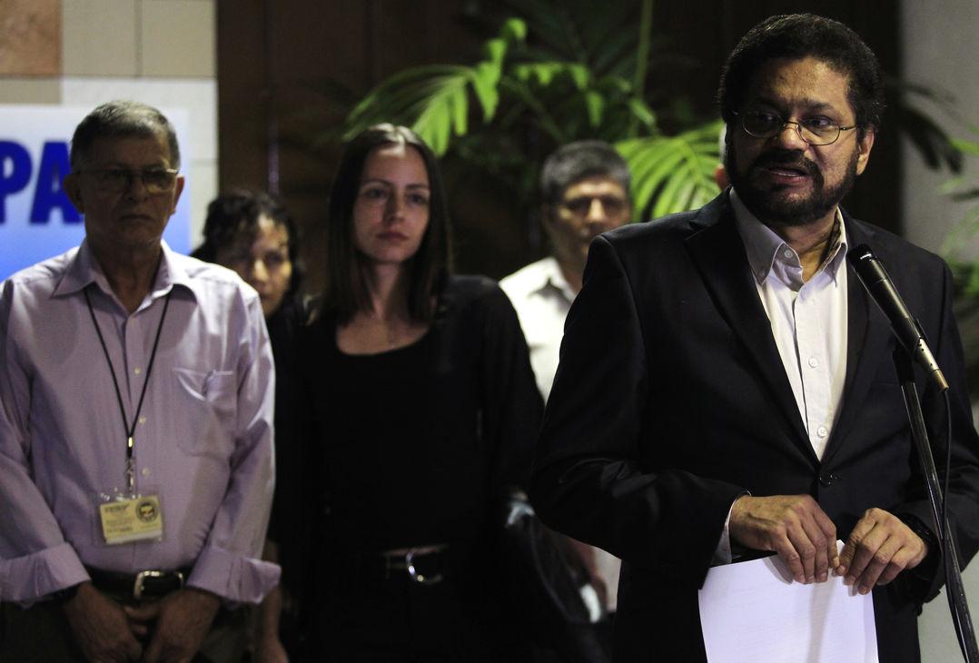 Убит командир колумбийских повстанцев FARC