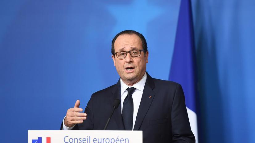 Франсуа Олланд: Франция пока не может передать России «Мистрали»
