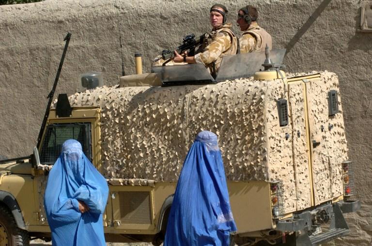 Британцы спешно покидают Афганистан