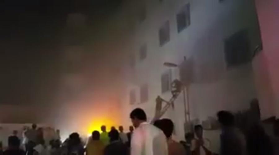 Пожар в больнице Саудовской Аравии, где пострадали более 130 человек: фото и видео с места событий