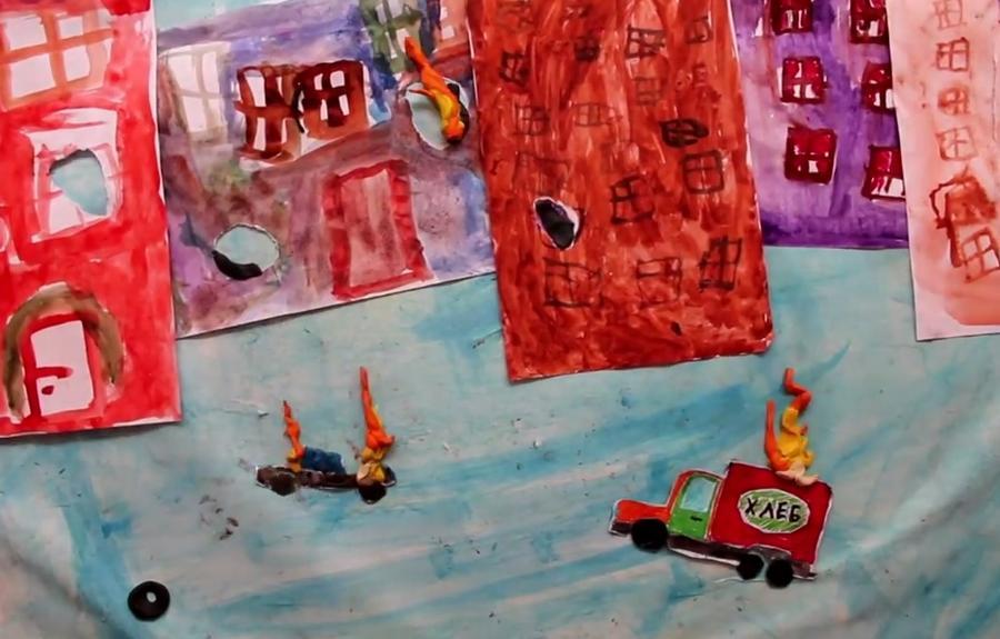 Дети-беженцы с Украины сняли мультфильм о том, почему им пришлось бежать в Россию