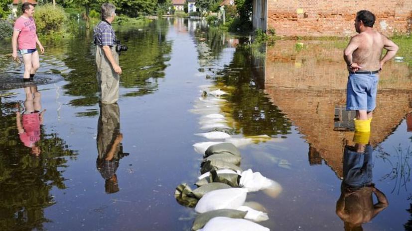 Германия рискует потерять €12 млрд из-за наводнений