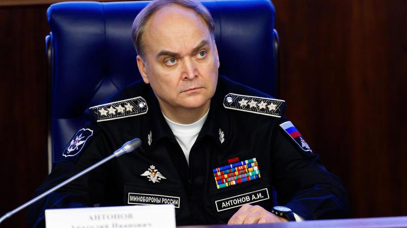 Замминистра обороны РФ Анатолий Антонов в интервью RT: Хватит воевать, надо строить новую Сирию