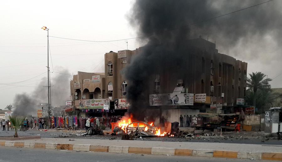 В результате серии взрывов в Багдаде погибли 60 человек