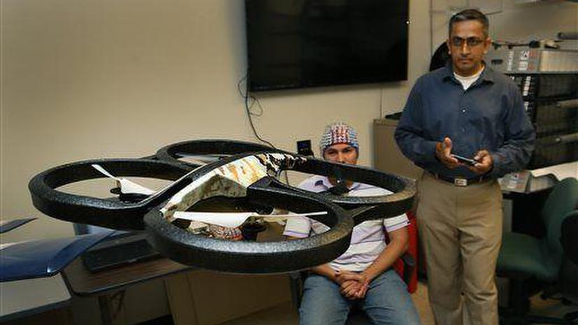 В Техасе разрабатывают дроны, управляемые силой мысли