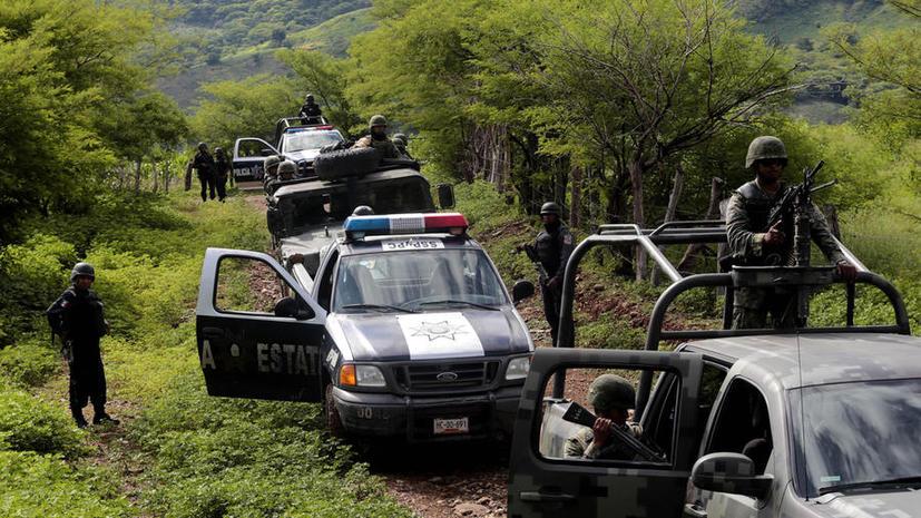 Мексиканские наркоторговцы нанимают американских военных для расправ над конкурентами