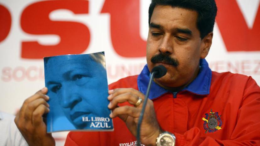 Николас Мадуро: Во время строительства метро в Каракасе рабочим явился лик Уго Чавеса