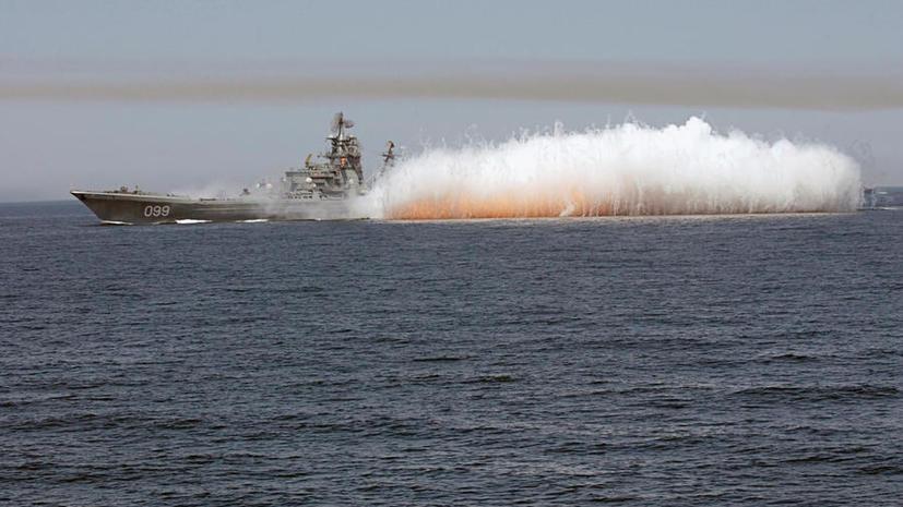 Российские и китайские моряки проведут совместные учения в Средиземном море