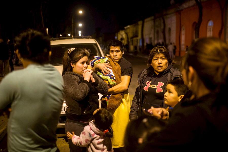 Пользователи соцсетей делятся фотографиями последствий цунами в Чили