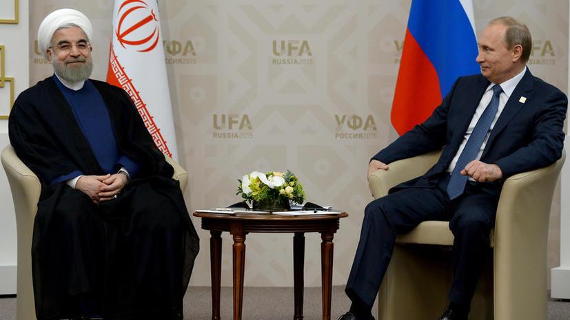 Владимир Путин сегодня совершает первый за восемь лет визит в Иран