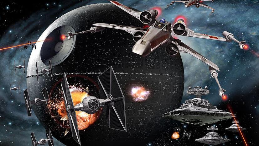 В Америке началось строительство «Звезды Смерти» из «Звездных войн»