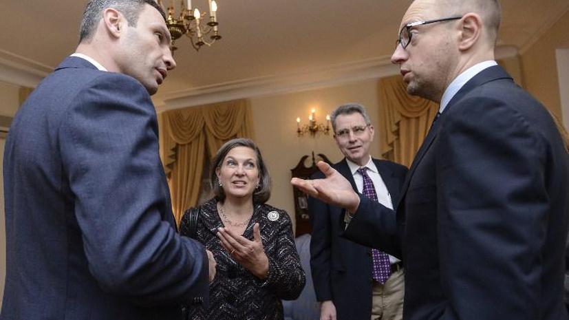 Вашингтон аннулировал визы ряду должностных лиц Украины