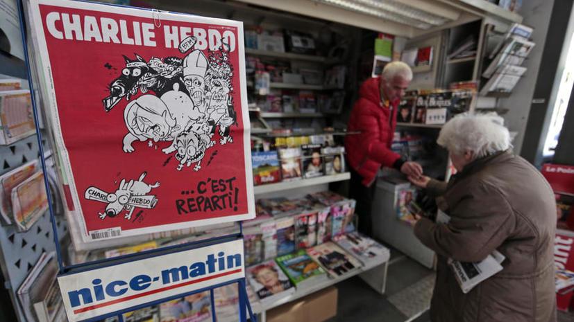 Пользователей соцсетей возмутили карикатуры Charlie Hebdo на трагедию A321