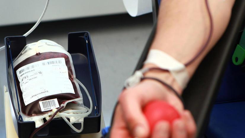 В США геям разрешили быть донорами крови