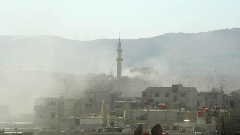 В Дамаске взорвалась заминированная машина: 6 погибших, 22 раненых